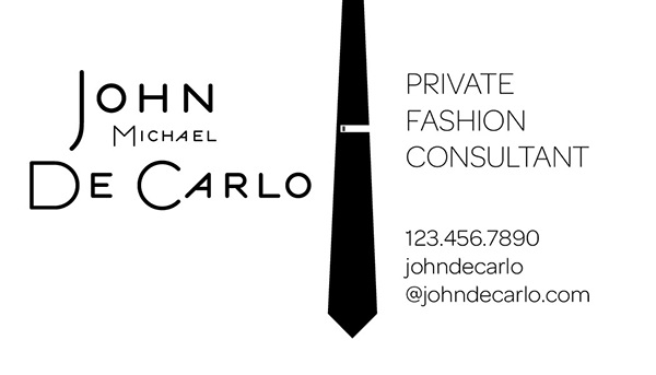 Fashion Consultant Business card design and Logo on Behance
