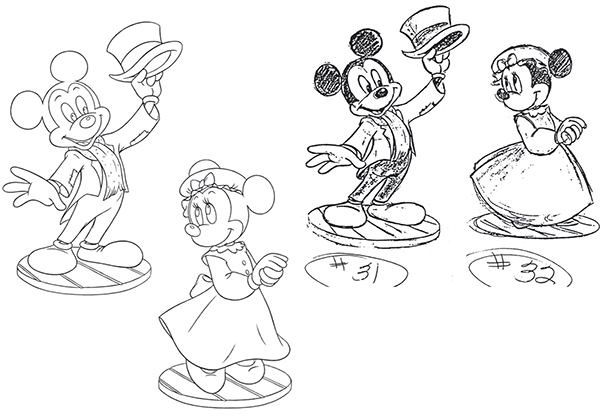 Disney Classic Collection, Figurines & Product Designs on