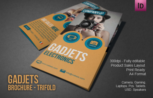 Gadgets And Gizmos Brochure Design Modern Design On Behance