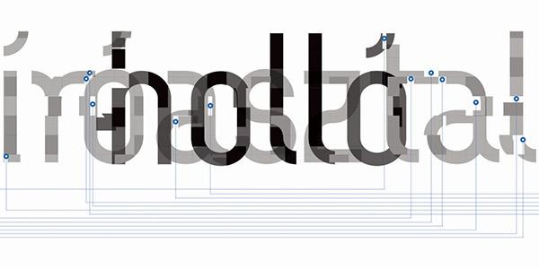 Alice in Wonderland Typographical Illustration on Behance