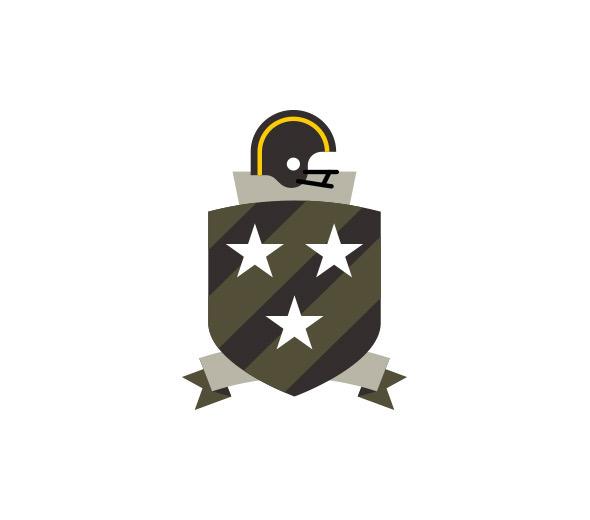 fantasy football icons on