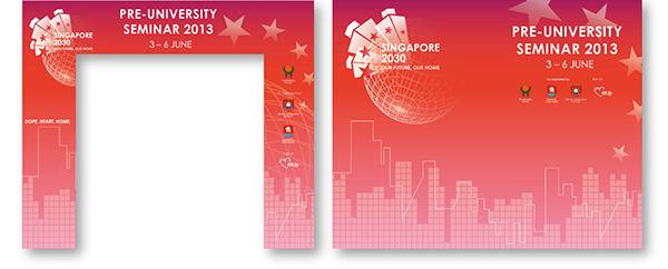 Singapore PreUniversity Seminar 2013 on Behance
