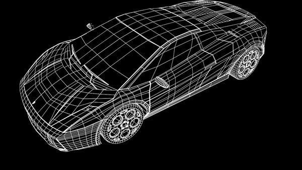 Pistol 3d Wallpaper Lamborghini Gallardo 3d Model On Behance
