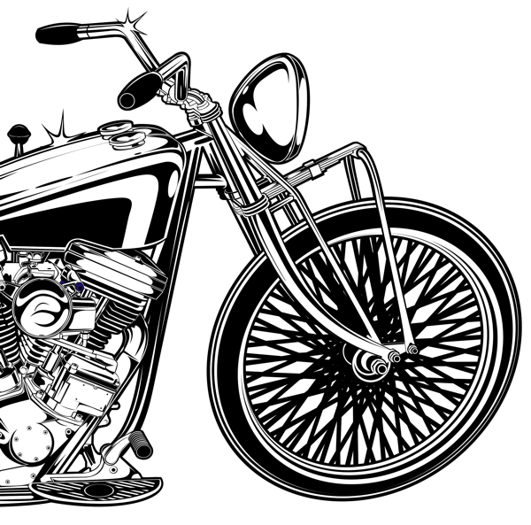 Motorcycles Illustrations on Behance