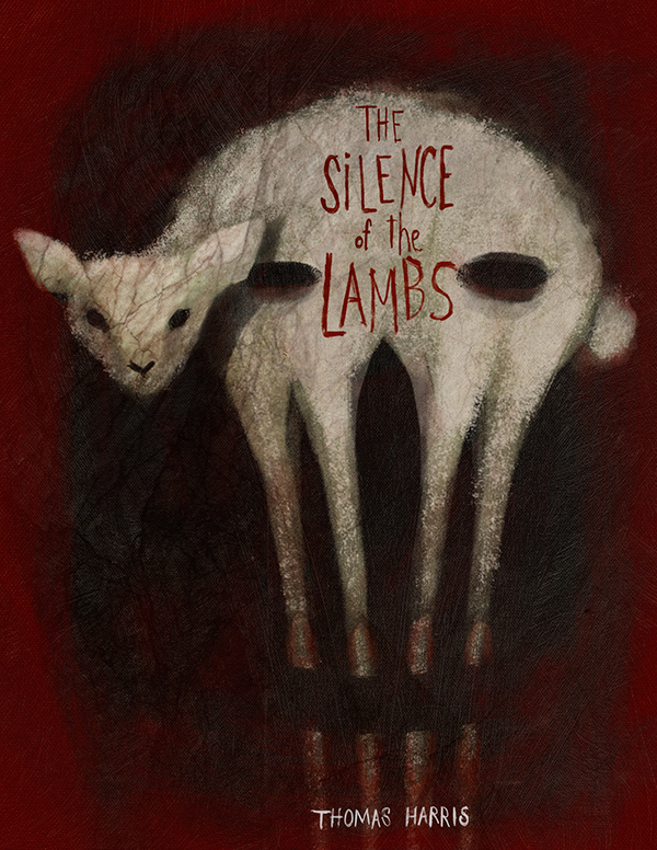 The Silence of the Lambs by Thomas Harris on Behance
