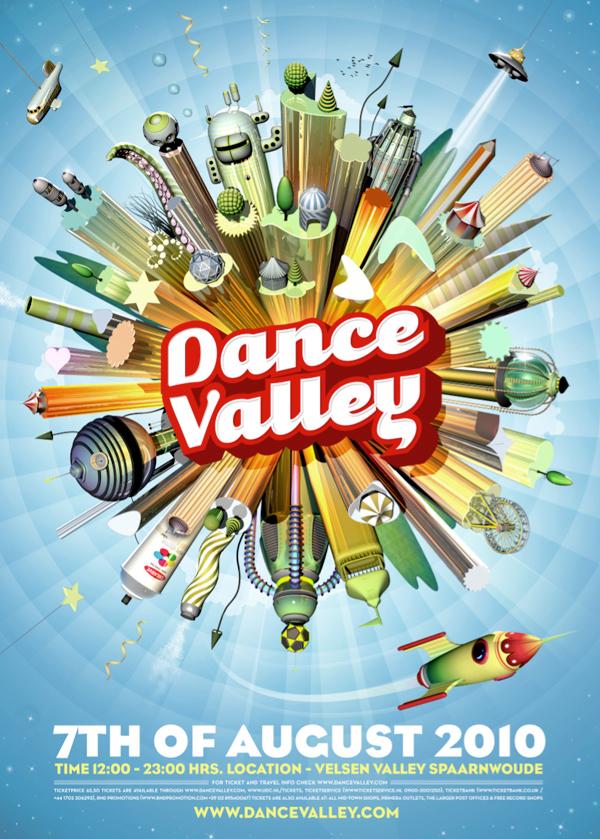 UDC Dance Valley Festival On Behance