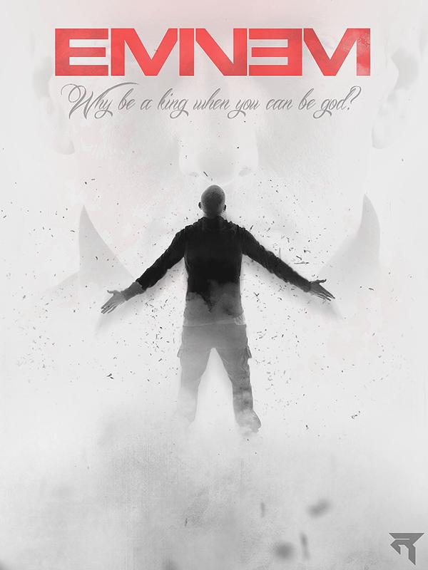 Eminem Rap God Poster on Behance