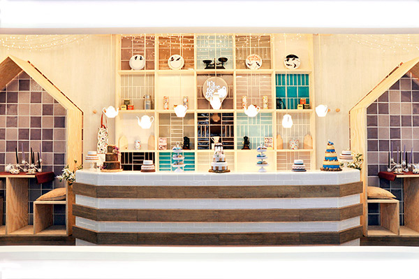 Tea Room Interior Design Concept On Behance