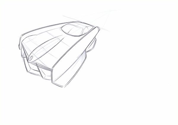 Mercedes Benz SLR concept on Behance