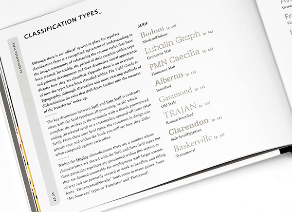 The Field Guide to Typography on Behance