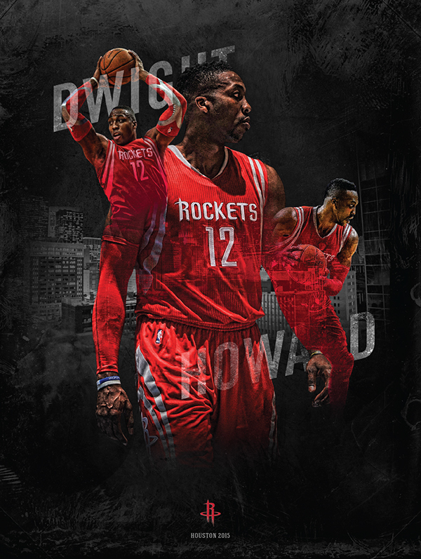 james harden dwight howard posters on