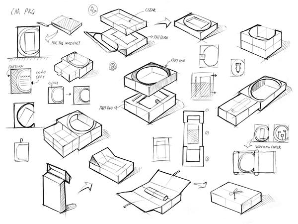 Catherine Malandrino Packaging Design on Student Show