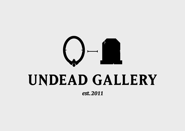 Undead Gallery — Identity design on Behance