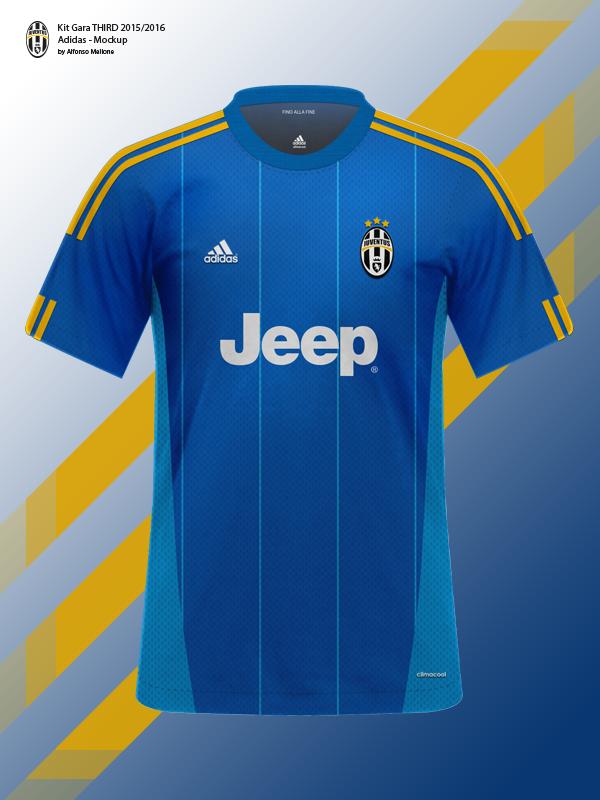 Download Juventus FC Kit Gara 2015/2016 - Adidas - Mockup on Behance