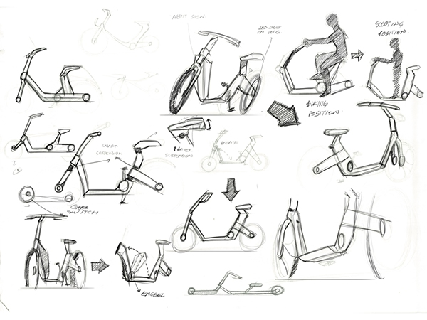 Scoobike on Behance