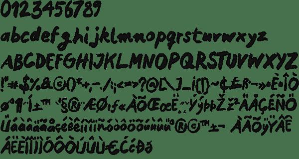 Mink Type | 10 handwriting fonts | 41studio ruby on rails company