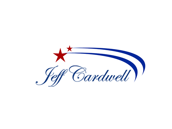 Logo concepts for Republican Jeff Cardwell on Behance