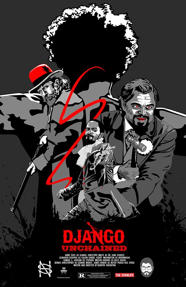 Django Unchained Poster on Behance