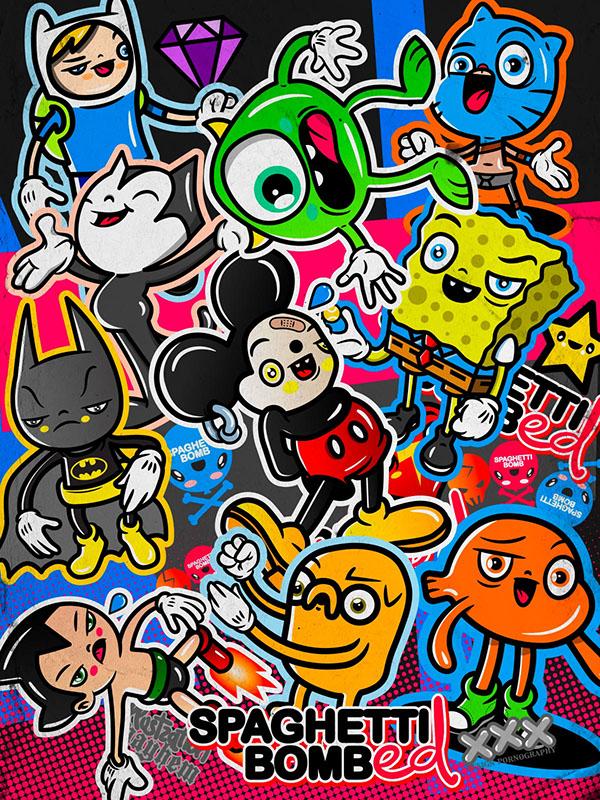 35+ Karakter Kartun Gambar Kartun Lucu Imut