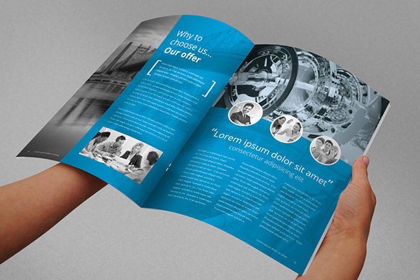 Annual Report Brochure Indesign Template On Behance