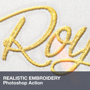 Realistic Embroidery - Photoshop Actions - 23