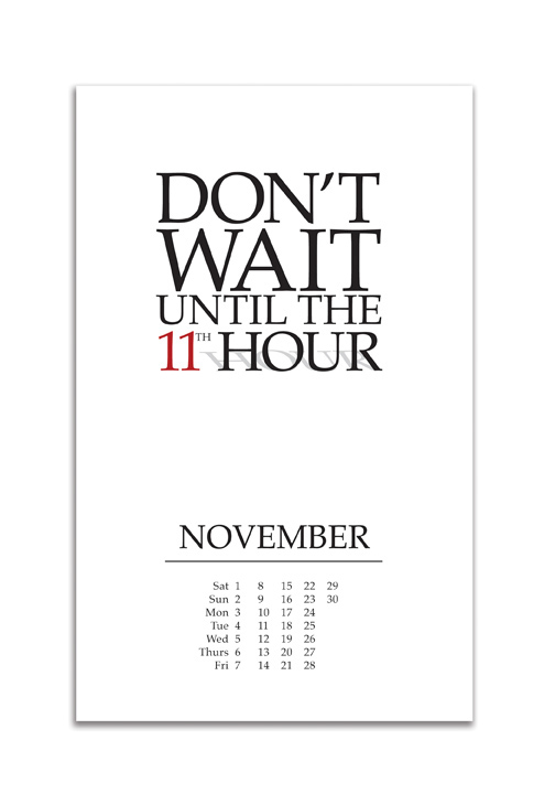 Idioms on a Whim 2014 Calendar on Behance