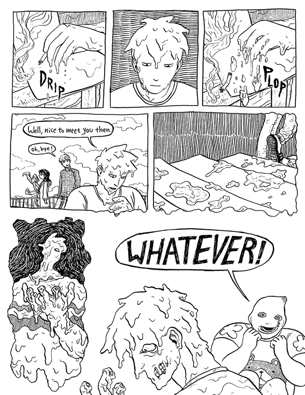 Comic: Unstable Stable (Part 1) on RISD Portfolios