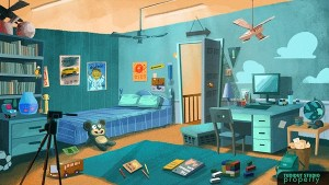 animation background cartoon anime behance concept environment illustration bedroom backgrounds daud amin drawing interior 3d scenery 2d bg bed reference