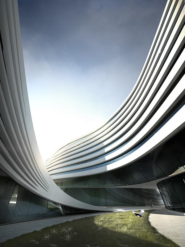 Futuristic Architecture Zaha Hadid