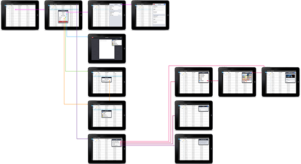 IBM Content Navigator for iPad on Behance