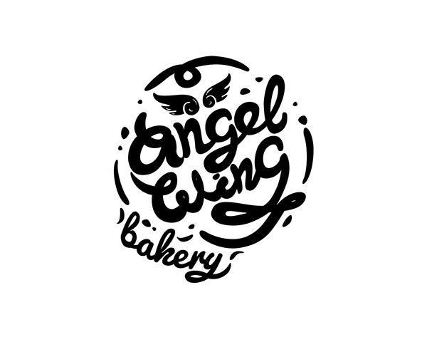 Angel Wing Bakery Logo on Behance