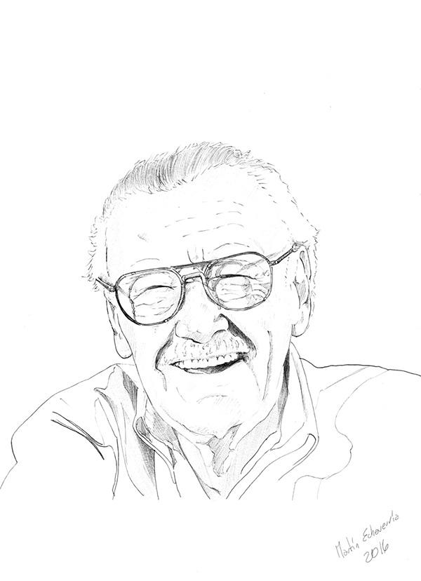 Stan Lee on Wacom Gallery