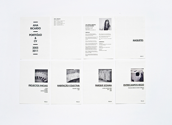 ANA RICARDO // PORTFOLIO AND CV // ARCHITECT on Behance