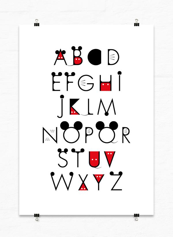 Mickey Font. disney movie tv free font typography. mickey