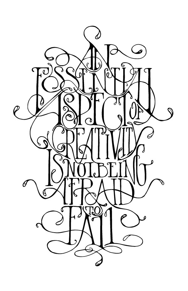 Lettering: Creative Aspect on Behance