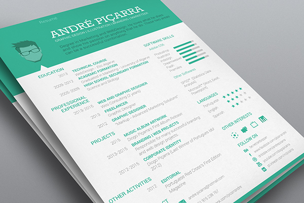 CV / Resumé on Behance
