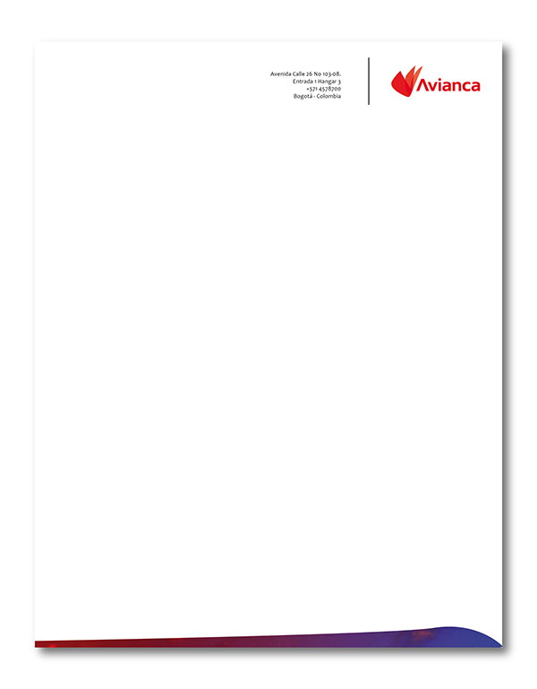Avianca ReBrand Work on Behance