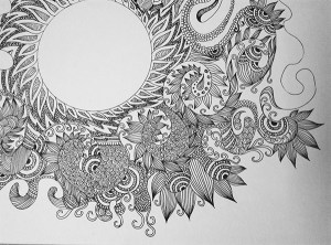 doodle drawings simple drawing doodles meaning mania patterns abstract behance shapes otherwise occupied attention while person