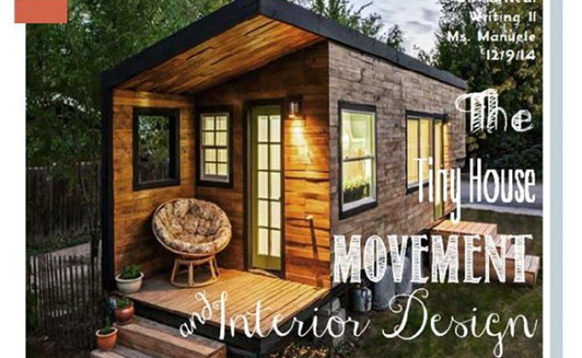 The Tiny House Movement Interior Design On The Art