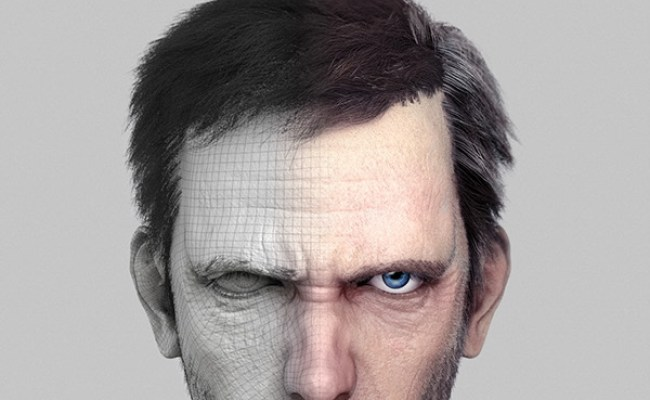 House M D Hugh Laurie Portraits Cgi On Behance