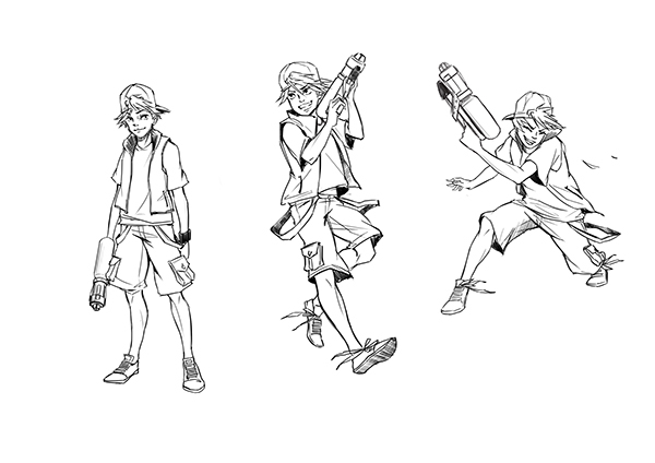 Character Design & Character Sketches on Behance
