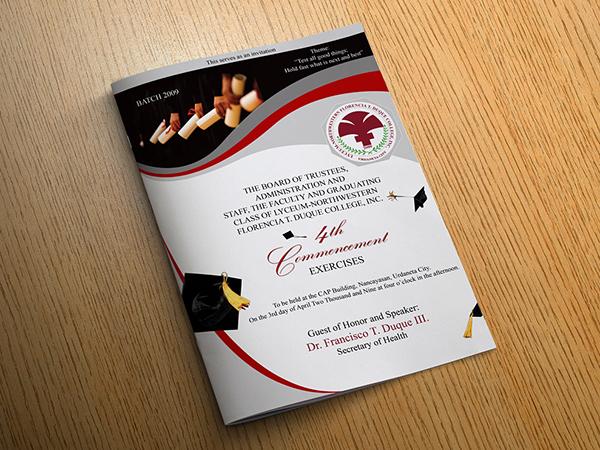 graduation program covers on