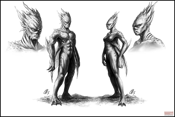 Character and Creature Concept Art on Behance