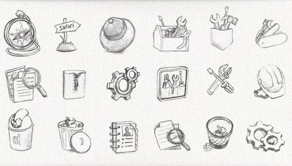 Mac icons & illustrations on Behance