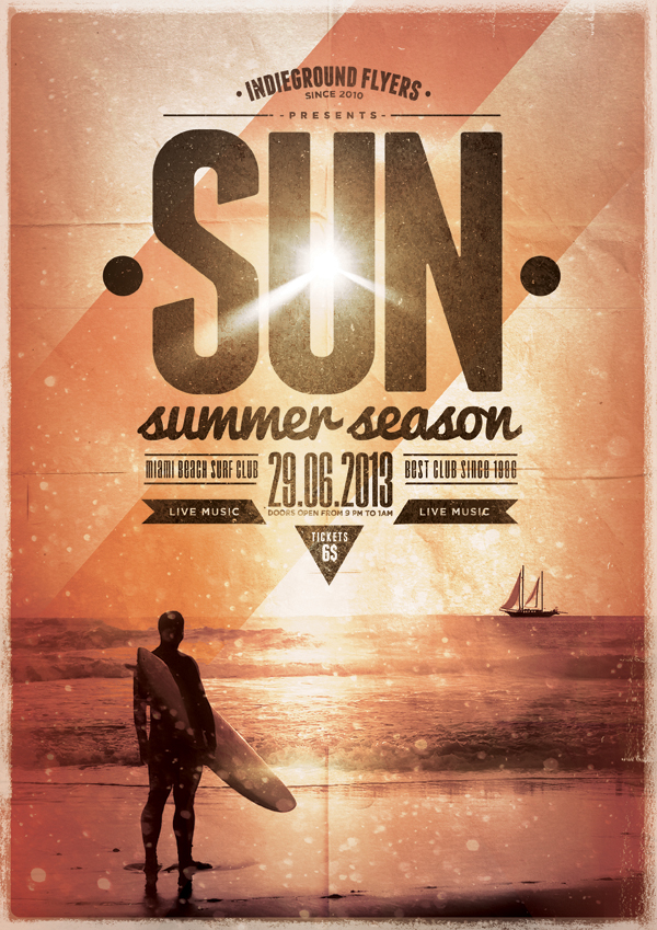 Summer Flyer Templates Vol 1 3 On Behance