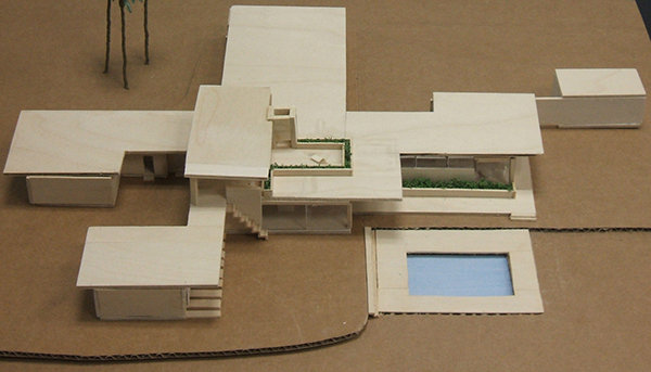 Kaufmann Desert House Case Study on Behance