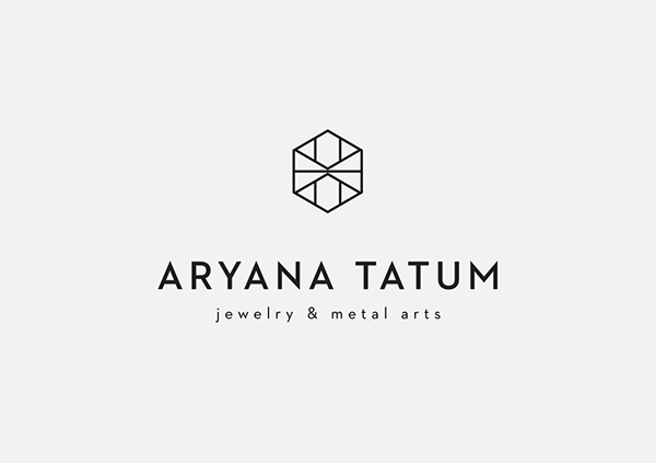 Aryana Tatum Jewelry / Identity Design on Behance