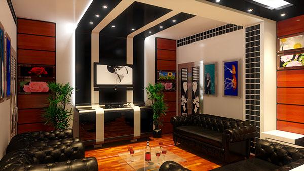 Salon Ultra moderne on Behance