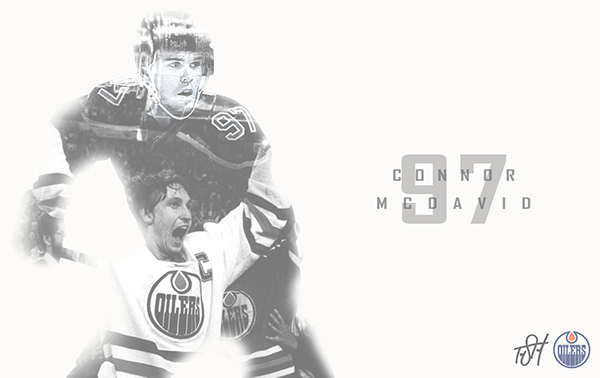 Connor McDavid The Greatest Expectation Wallpaper On Behance