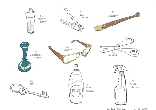 80 Sketches in 80 Days on Behance